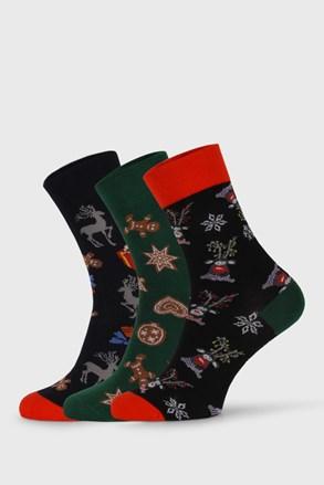 3 PACK vánočních ponožek Despate
