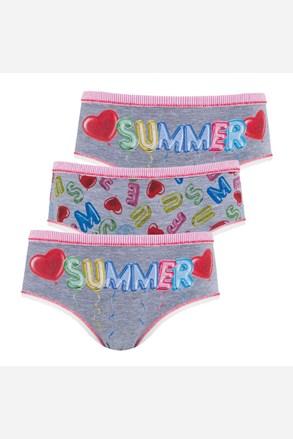 Trójpak dziewczęcych fig Summer