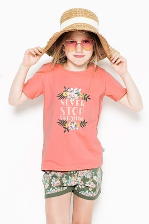 Dziewczęca piżama Flowers