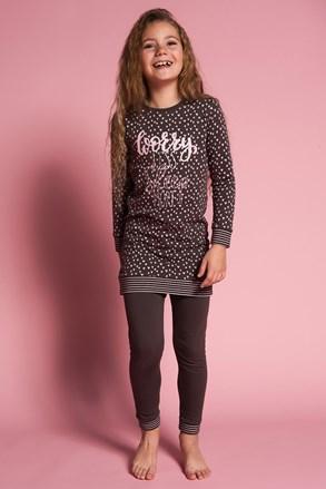 Dziewczęca piżama Worry Less