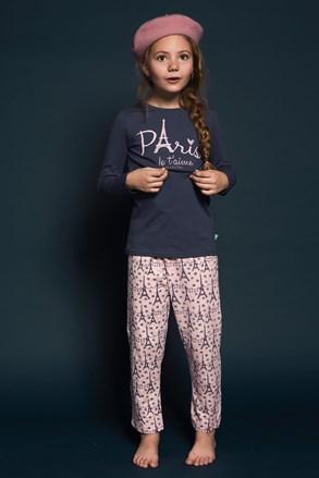 Dziewczęca piżama Paris 01