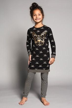 Dziewczęca piżama Bulldogs