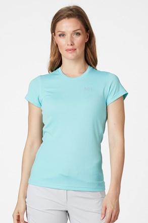Damski niebieski krótki T-shirt funkcyjny Helly Hansen Lifa Active
