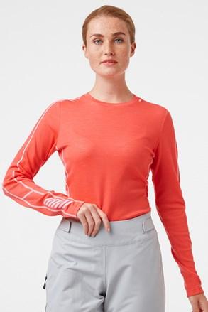 Damska koszulka termiczna Helly Hansen Lifa Merino
