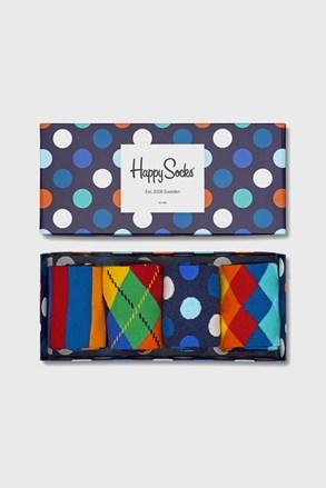 4 PACK skarpetek Happy Socks Multicolor