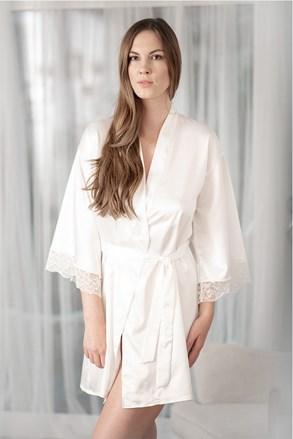 Satynowy szlafroczek Bride