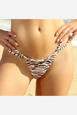 Dolna część kostiumu kąpielowego Zebra Thick Strap
