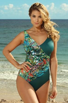 Jednoczęściowy damski kostium kąpielowy Savannah Tropical