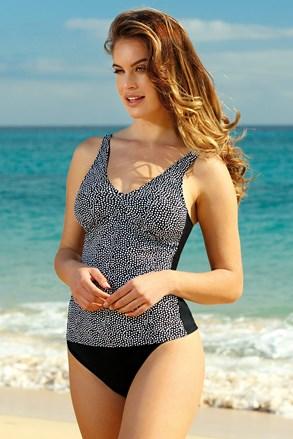 Górna część damskiegko kostiumu kąpielowego tankini Tropical Dots