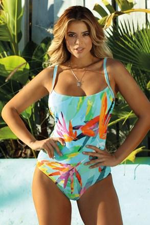 Jednoczęściowy damski kostium kąpielowy Leaves II