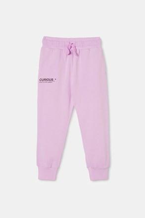 Dziewczęce spodnie dresowe Violet