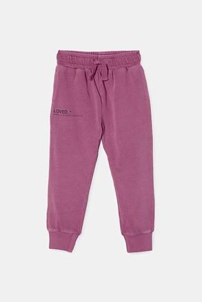 Dziewczęce spodnie dresowe Berry