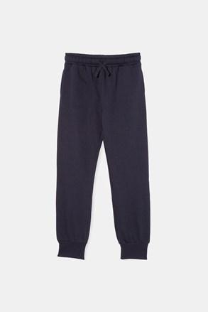 Chłopięce spodnie dresowe Navy