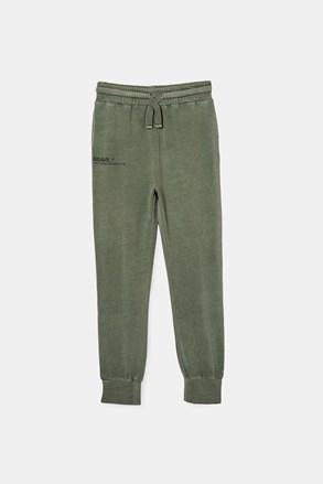 Chłopięce spodnie dresowe Swag Green