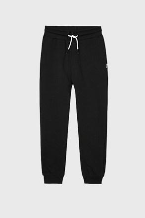 Chłopięce spodnie dresowe VInyl czarne