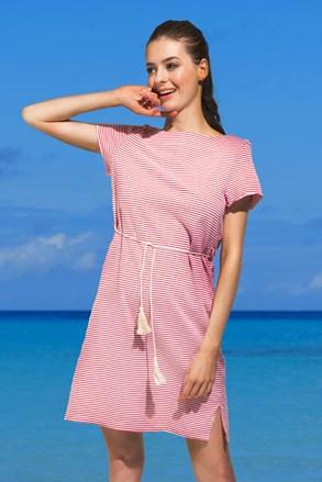 Sukienka plażowa Pandra czerwona