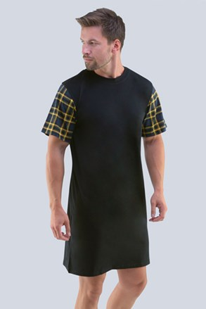 Czarna koszula nocna Randal