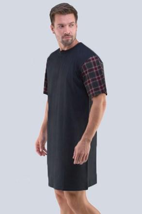 Ciemnoszara męska koszula nocna Randal