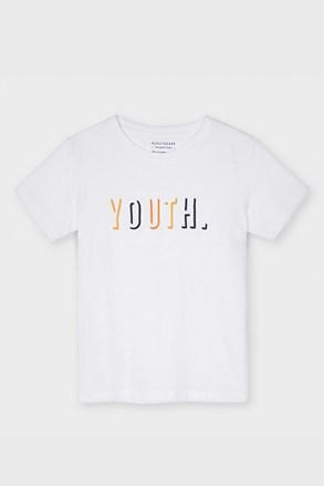 Chłopięcy T-shirt Mayoral Youth biały