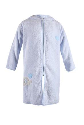 Dziecięcy szlafrok Blue Kids Słoń niebieski