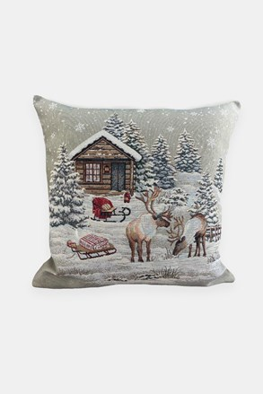 Gobelinowa poszewka na poduszkę Winter Time