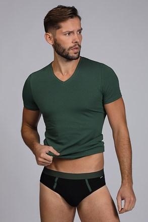 Męski KOMPLET: slipy i T-shirt Raw Man zielone