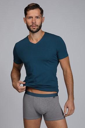 Męski KOMPLET: T-shirt i bokserki Raw Man niebieskozielone