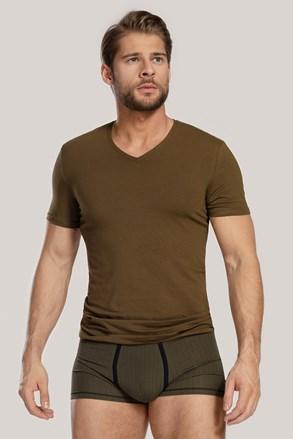 Męski KOMPLET: T-shirt i bokserki Dandy zielony