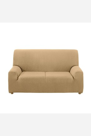 Pokrowiec na dwuosobową sofę - kremowy