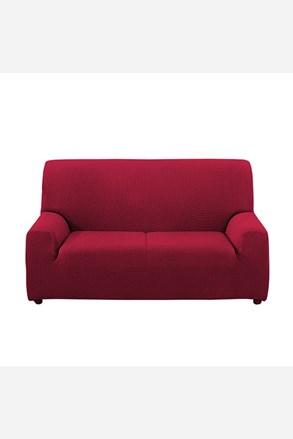 Pokrowiec na dwuosobową sofę - bordo