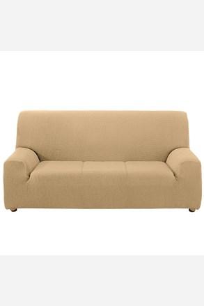 Pokrowiec na trzyosobową sofę - kremowy
