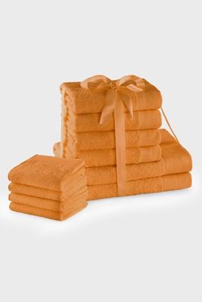 Komplet ręczników Amari Family pomarańczowy