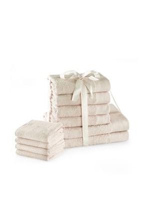 Komplet ręczników Amari Family Ecru