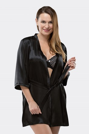 Elegancki szlafrok Aria Black