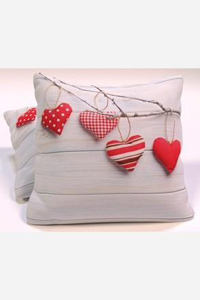 Poduszka dekoracyjna Vintage Hearts