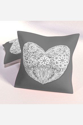 Poduszka dekoracyjna Hearts