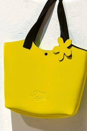 Torba plażowa Lady Etna żółta