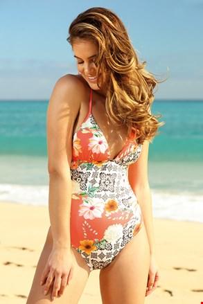 Jednoczęściowy damski kostium kąpielowy Samantha