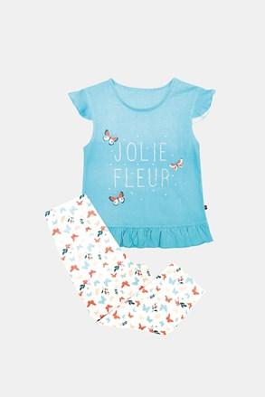 Dziewczęca piżama Lila niebieska