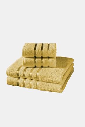 Komplet ręczników Bale żółty