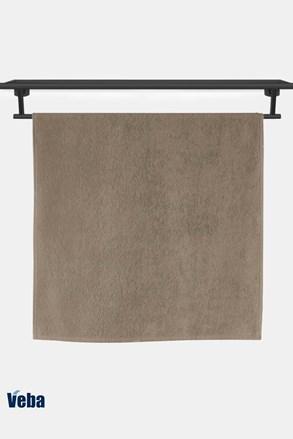 Luksusowy bambusowy ręcznik VEBA Bali nugatowy