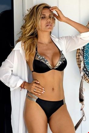 Górna część damskiego kostiumu kąpielowego Casablanca czarna