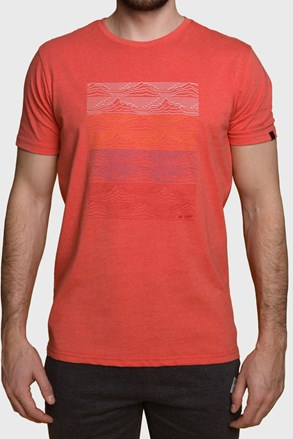 Czerwony T-shirt LOAO Boelf