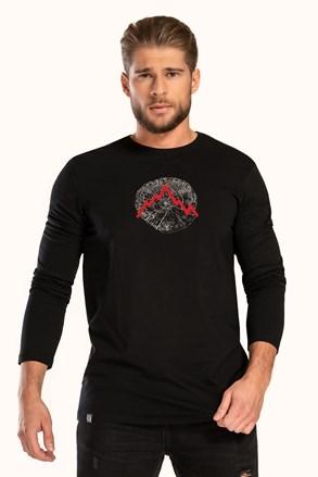 Czarny T-shirt LOAP Albert