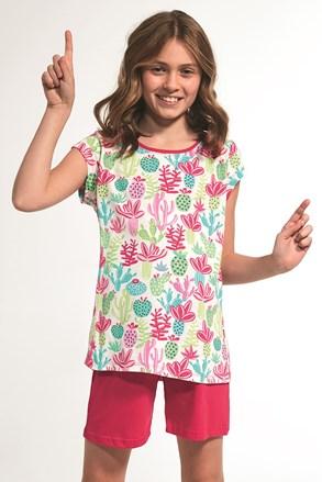 Dziewczęca piżamka Cactus