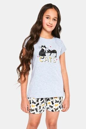 Dziewczęca piżama  Cats