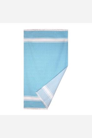 Ręcznik plażowy Chevron turkusowy