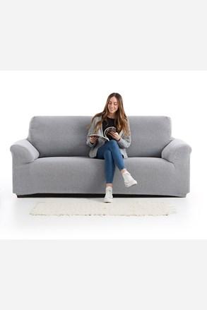 Pokrowiec na dwuosobową sofę Creta czarno-biały