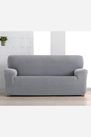Pokrowiec na trzyosobową sofę Creta biało-czarny