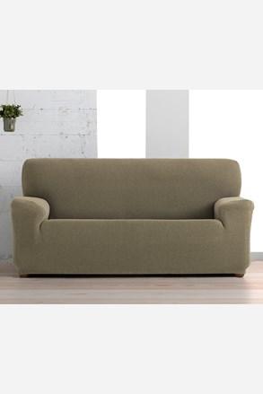 Pokrowiec na trzyosobową sofę Creta brązowy